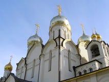 Zachatievskyklooster in Moskou Stock Fotografie