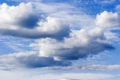 zachmurzone niebo Fotografia Royalty Free