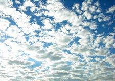 zachmurzone niebo Zdjęcie Royalty Free