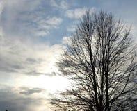 zachmurzone niebo Fotografia Stock