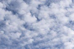zachmurzone niebo Zdjęcia Stock