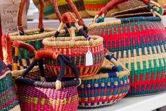 Zachodni - afrykańscy kosze Zdjęcie Stock