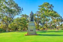 Zachodni Australijski ogród botaniczny fotografia royalty free
