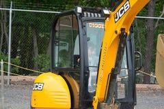 ZACHODNI - Berlin, NJ - MAJ 28: Diggerland usa, budowy przygody o temacie park Obraz Stock