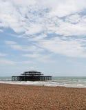 zachodni Brighton molo Obrazy Royalty Free