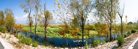 Zachodni Drogowy Erhai jezioro Fotografia Stock