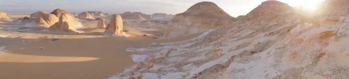 zachodni Egypt pustynny biel Sahara Obrazy Stock