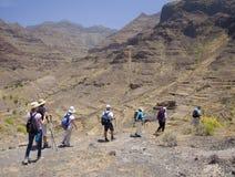 Zachodni Gran Canaria, Maj Obrazy Royalty Free