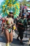 Zachodni Indiański dzień parady tancerz Obrazy Stock