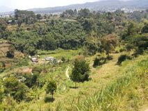 Zachodni Jawa krajobraz 6 Zdjęcia Stock