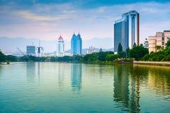 Zachodni Jeziorny Fuzhou Zdjęcie Stock