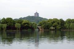 Zachodni Jeziorny Hangzhou Zdjęcie Stock
