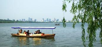 Zachodni jezioro w Hangzhou Obraz Royalty Free