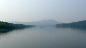 Zachodni jezioro w lecie Zdjęcie Royalty Free