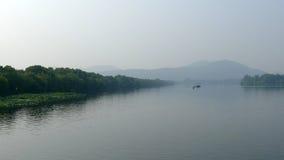 Zachodni jezioro w lecie Fotografia Royalty Free