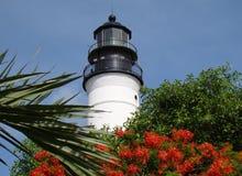 zachodni kluczowa latarnia morska Obrazy Royalty Free