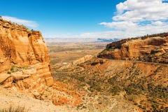 Zachodni Kolorado krajobraz Obraz Stock