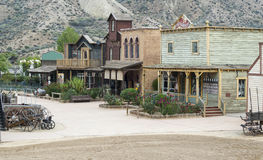 Zachodni miasteczko Obraz Royalty Free