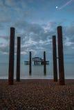 Zachodni molo Brighton UK Zdjęcie Stock