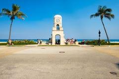 Zachodni palm beach pejzaż miejski fotografia stock
