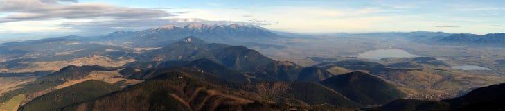 zachodni panoram tatras Fotografia Royalty Free