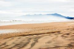 zachodni plażowy Tasmania Obrazy Stock