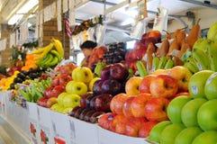 zachodni produkty spożywcze targowa strona Fotografia Stock