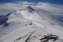 Zachodni tatras w zimie Zdjęcia Royalty Free