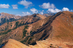 Zachodni Tatrzańskie Góry Fotografia Royalty Free