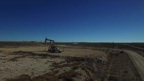 ZACHODNI TEKSAS boom na rynku naftowym zbiory