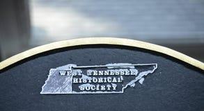 Zachodni Tennessee Dziejowy społeczeństwo obrazy stock