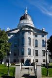 Zachodni wejście Maine stanu dom Obrazy Royalty Free