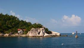 Zachodni wybrze?e blisko Jansom zatoki koh Tao Chumpon archipelag Surat Thani prowincja Tajlandia obraz royalty free
