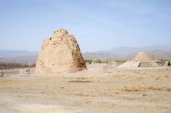 Zachodni Xia grobowowie Zdjęcie Royalty Free