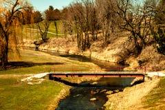 Zachodni Zrzeszeniowy pole golfowe i klub poza miastem fotografia royalty free