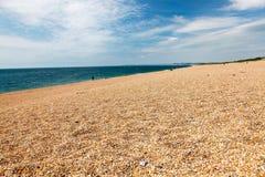 Zachodnia Bexington plaża Dorset Obrazy Stock