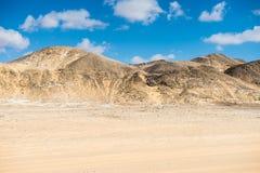Zachodnia biel pustynia w Egipt, Fotografia Stock