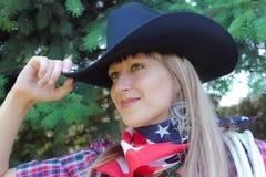 Zachodnia dziewczyna zdjęcia stock