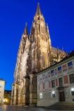 Zachodnia fasada St. Vitus katedra w Praga Obraz Royalty Free