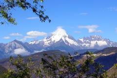 Zachodnia Górska sceneria, China16 Fotografia Royalty Free