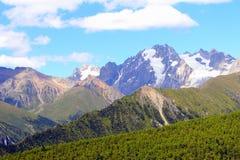 Zachodnia Górska sceneria, China17 Obraz Stock