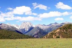 Zachodnia Górska sceneria, China18 Zdjęcie Stock
