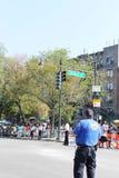 Zachodnia Indiańska dzień parada NYPD Zdjęcie Royalty Free