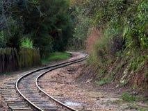 Zachodnia kolej Minas turysty linia kolejowa fotografia stock