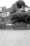 Zachodnia Londyńska ulica Obrazy Royalty Free