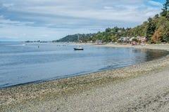 Zachodnia Seattle linia brzegowa 5 Obrazy Royalty Free