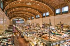 Zachodnia strona rynek w Cleveland Ohio obrazy royalty free
