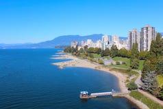 Zachodnia strona Vancouver, Kanada Fotografia Royalty Free