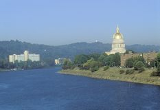 Zachodnia Virginia stan Capitol Obrazy Stock