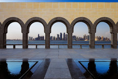 Zachodnia zatoka, Doha, Katar Zdjęcia Royalty Free